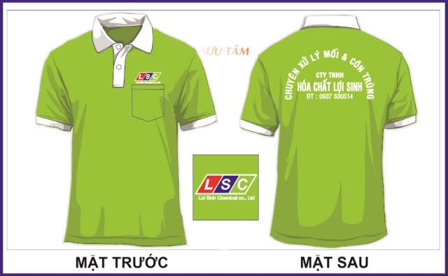 ATN nhận may in áo thun đồng phục lấy liền tại TPHCM