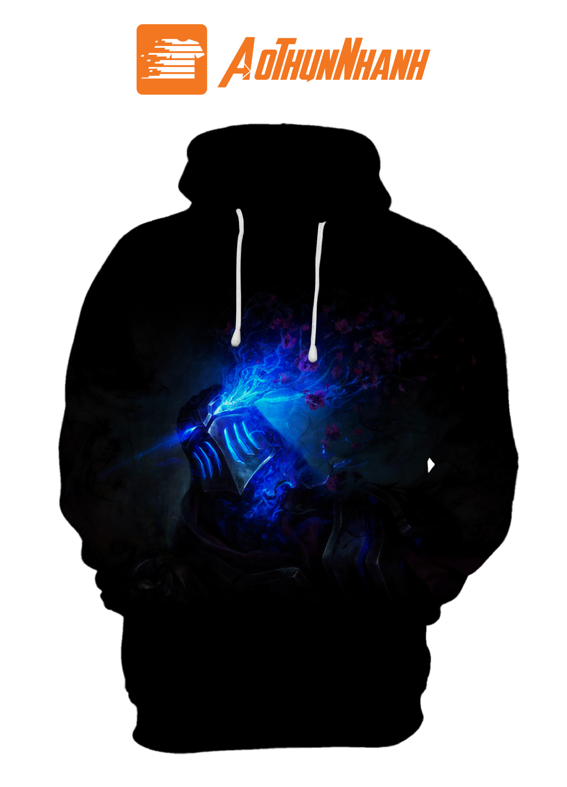 Áo Hoodie 3D Galaxy – Liên minh huyền thoại ZED 1