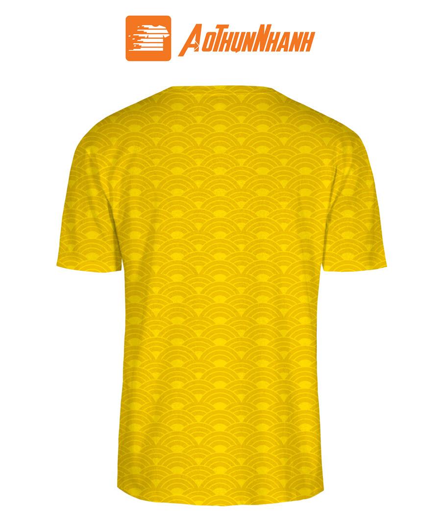 Áo thun Tết 2020 – Tết này đã về (áo màu vàng)