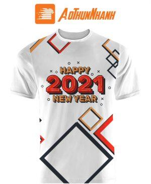 Áo thun Tết 2021 – Happy New Year 2021